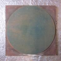 A 500mm diameter circle.