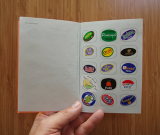 Fruit Sticker Album
